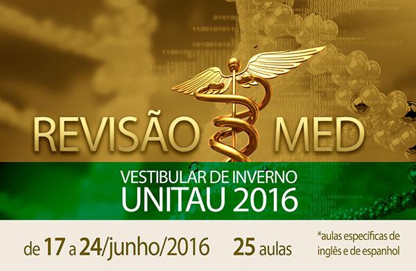 REVIS�O MED UNITAU INVERNO 2016