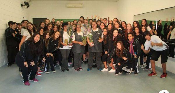 Homenagem às Auxiliares de Limpeza | Unidade Taubaté