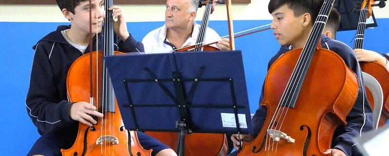 Apresentação da Orquestra de Cordas | Unidade Pindamonhangaba