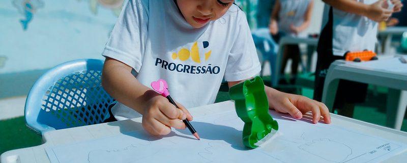 Atividade com a Educação Infantil em Pindamonhangaba