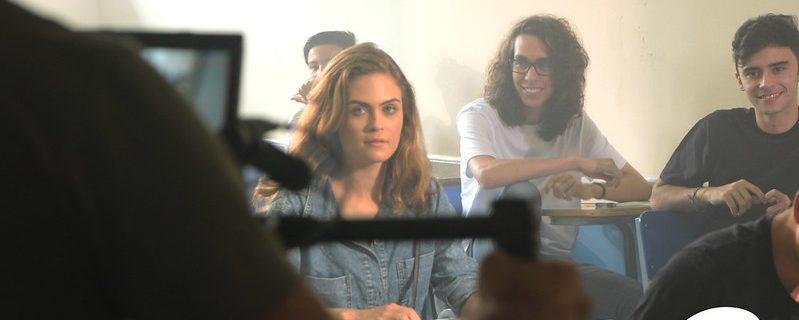 Gravação do clipe da Banda Rosa de Saron | Colégio Progressão
