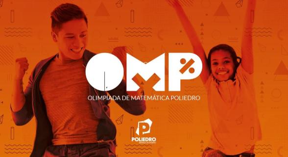 Alunos realizam a primeira fase da Olimpíada de Matemática Poliedro