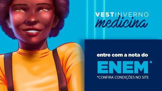 Vestibular de Medicina da Unitau terá seleção apenas pelo ENEM