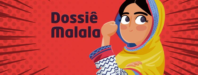 Alunos elaboram dossiê sobre a vida da ativista Malala Yousafzai