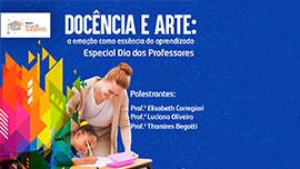 Troca de Saberes: Edição especial Dia dos Professores