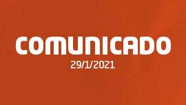 COMUNICADO #2   29/1/2021