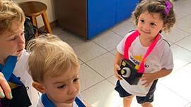 Conhecendo a escola através da câmera fotográfica | Unidade Taubaté